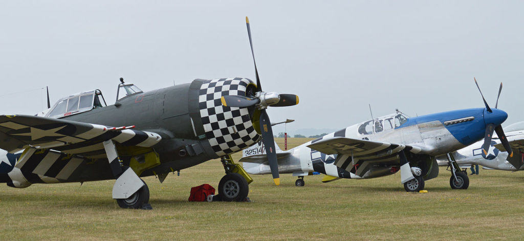 P-47 Thunderbolt dan P-51 Mustang / We are The Mighty