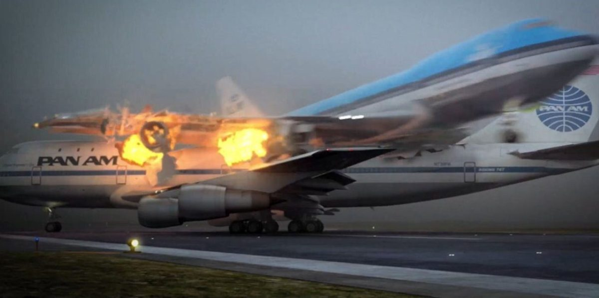 Kecelakaan Pesawat Terparah Terjadi di Darat