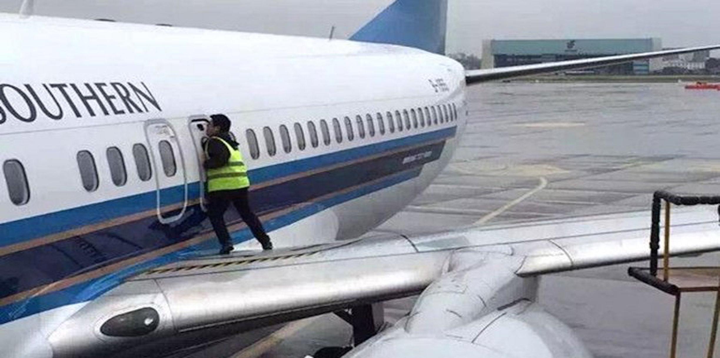 Dekompresi 2 Pintu Tidak Akan Terbuka Selama Terbang
